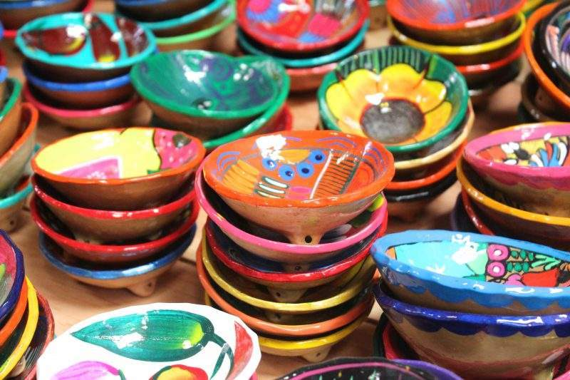Hand painted bowls