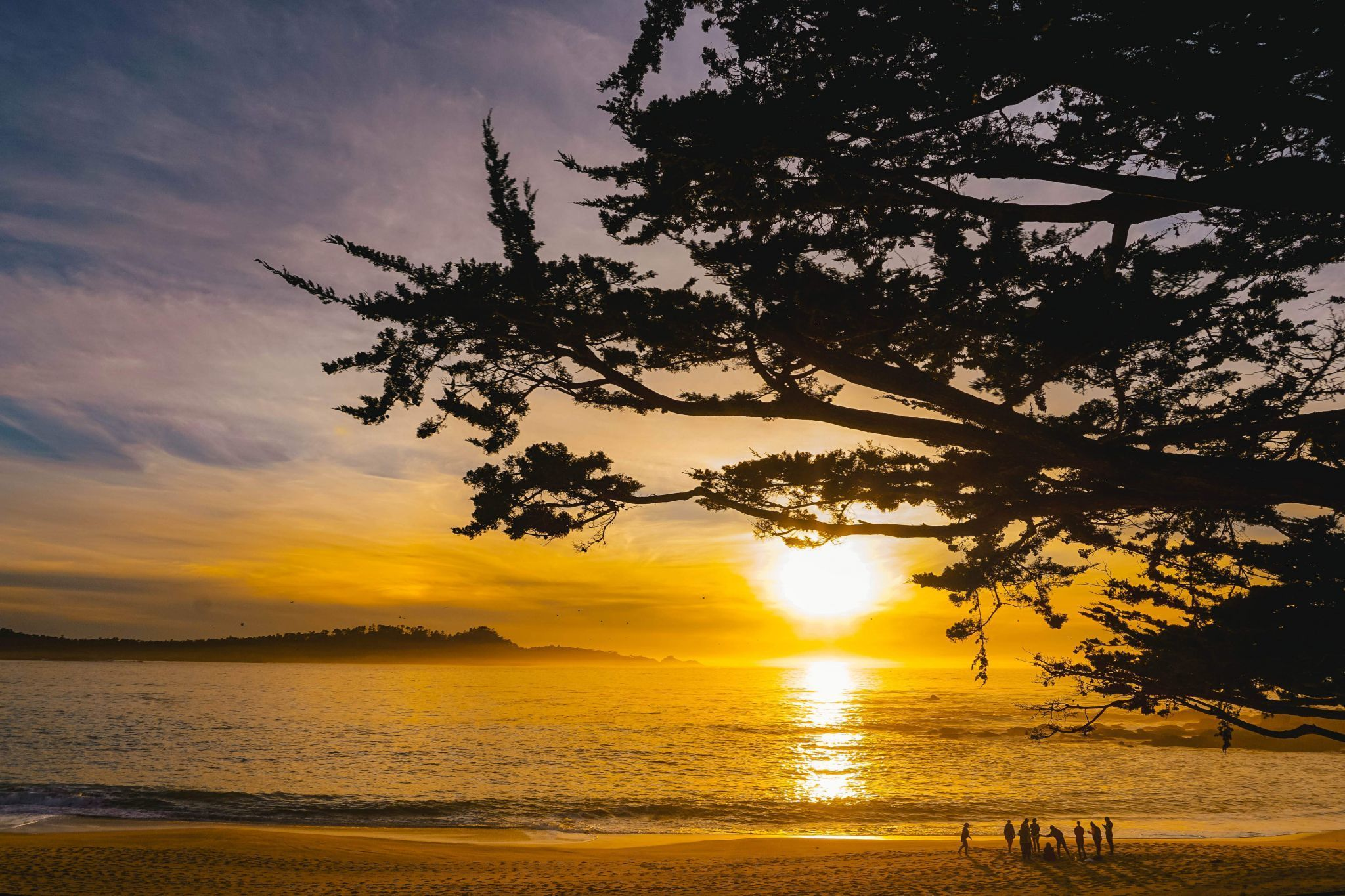 Carmel by the Sea at Sunset