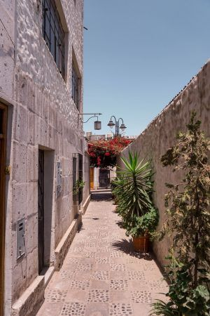 back streets of arequipa peru